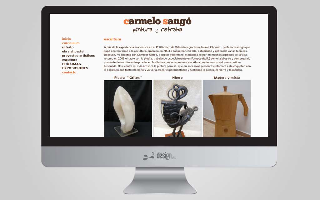 WEB PINTURA CARMELO SANGÓ