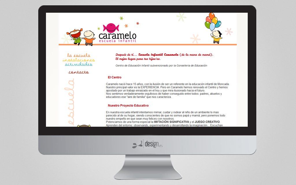 CARAMELO, ESCUELA INFANTIL