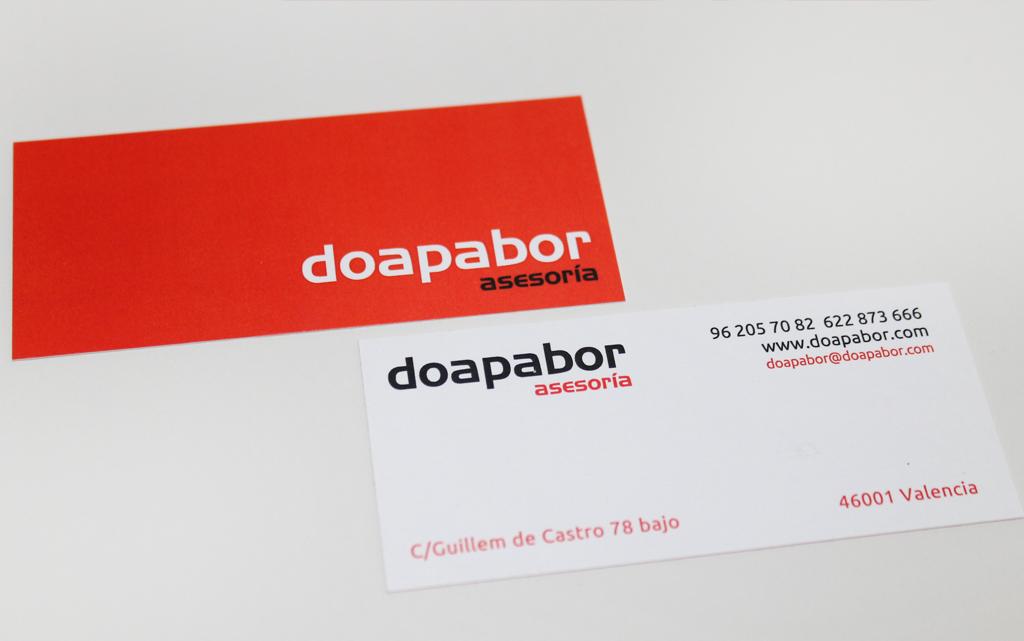 Marca corporativa Doapabor