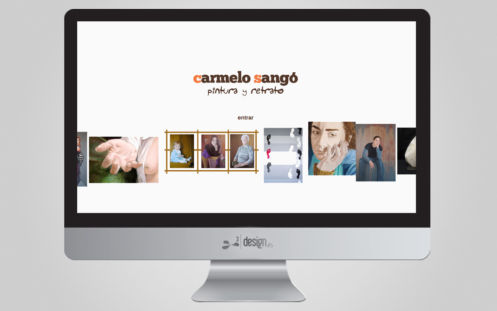 Web de pintura Carmelo Sangó