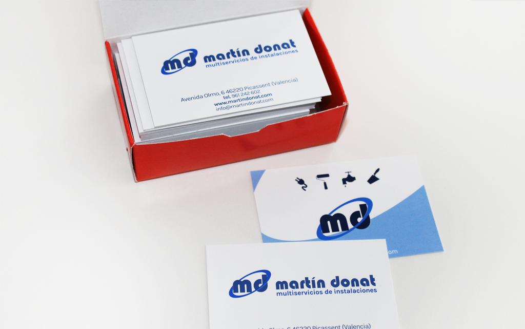 Imagen corporativa Martín Donat